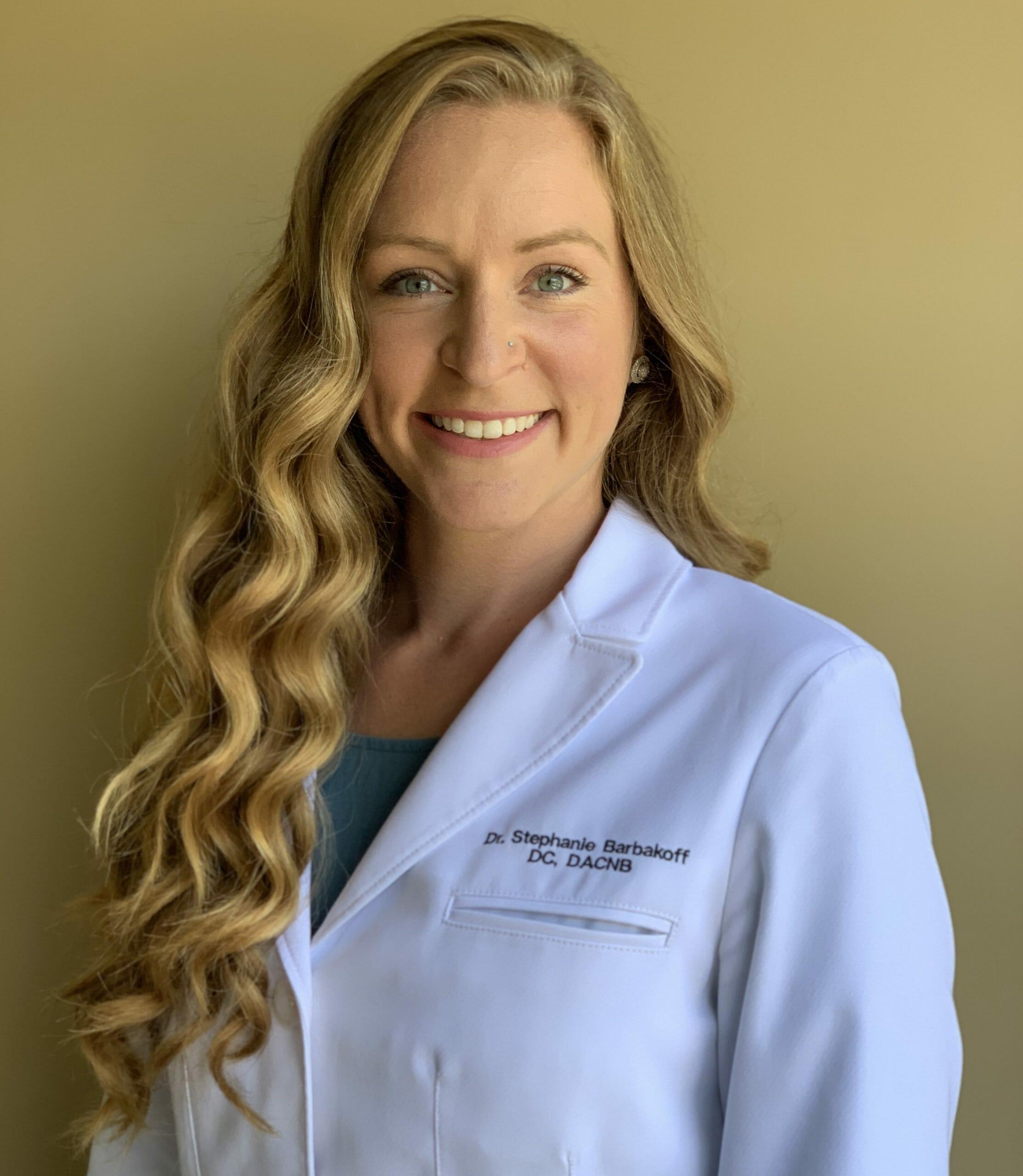 Dr. Stephanie Barbakoff DC, DACNB